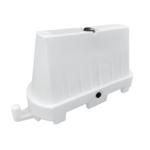 Kunststof barrier 1000×600 wit 2
