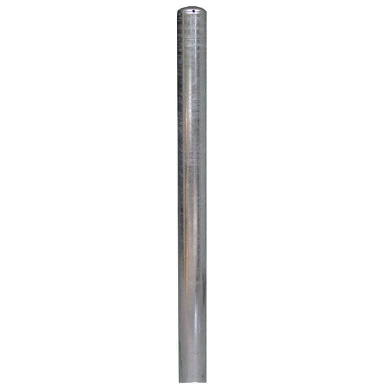 Aanrijdpaal in aardebaan ø 114 mm x 1500 mm verzinkt