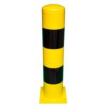 2193 – Aanrijdpaal 219×1000 geel-zwart