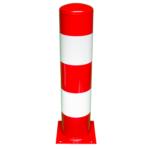 2195 – Aanrijdpaal 219×1000 rood-wit