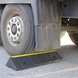 Parkeerbegrenzer vrachtwagens
