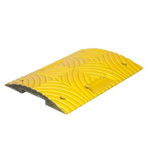 Verkeersdrempel standaardelement 400x500x50mm geel