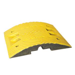 Verkeersdrempel standaardelement 500x500x70mm geel