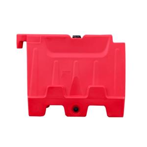 Kunststof barrier 1000x800 rood