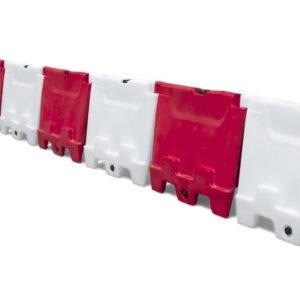 Opstelling kunststof barrier 100x80 cm