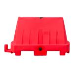 kunststof barrier 1000×600 rood
