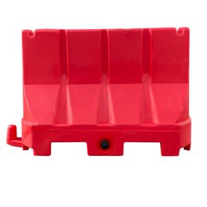 Kunststof barrier 100x70 rood